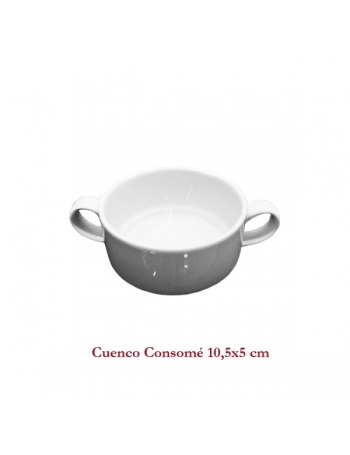 Taza de consomé 10x5,5 cm