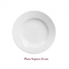 Plato sopero de 23cm