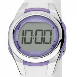 Reloj Nowley Racing Digital Blanco y Malva