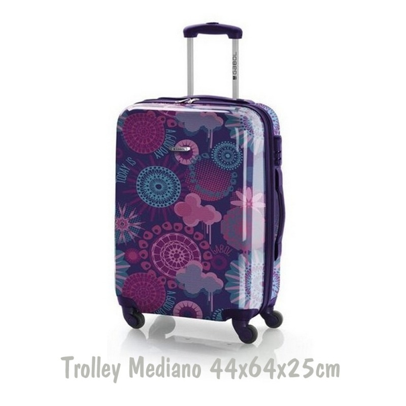 Trolley de mediana vanila