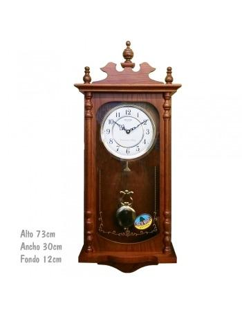 Reloj Clásico con Péndulo y Sonería