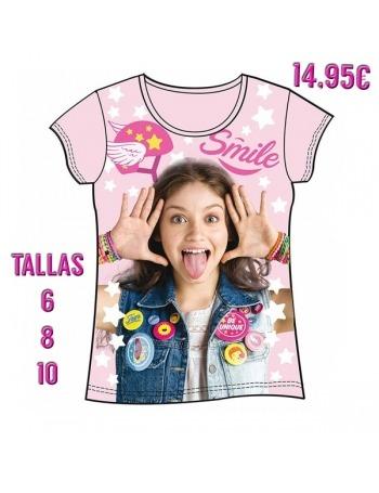 Camiseta Soy Luna Rosa