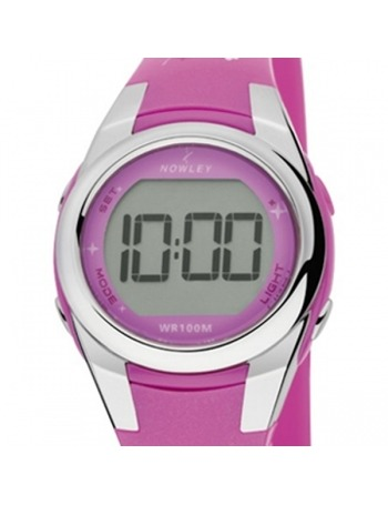 Reloj Nowley Racing Digital Fucsia