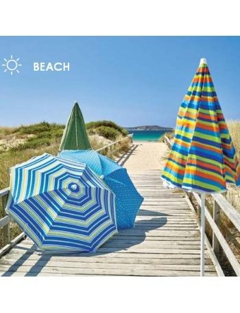 Parasol de Playa 160cm Básica UPF50