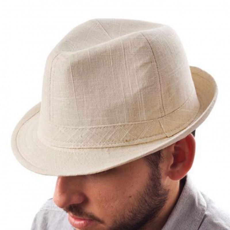 Sombrero Claro de Verano para Hombre