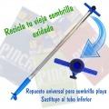 Pincho Integral INOX para sombrilla de playa. Tubo de repuesto sombrilla