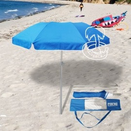La sombrilla de playa ultraplegable, perfecta para tus escapadas