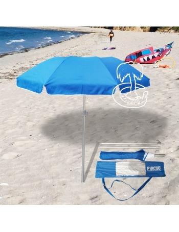 Sombrilla de Playa de Viaje Compacta Ligera de 180-73cm