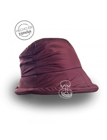 Sombrero para lluvia acolchado
