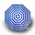 Paraguas Plegable Rayas Azul