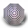 Paraguas Plegable Rayas Morado