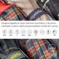 Paraguas Unisex plegable Reforzado Escocés