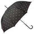 Paraguas topos negro