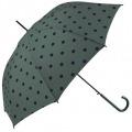 Paraguas topos burdeos