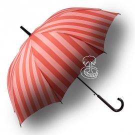Paraguas rayas automático