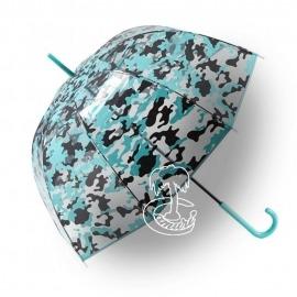 Paraguas Transparente de Camuflaje