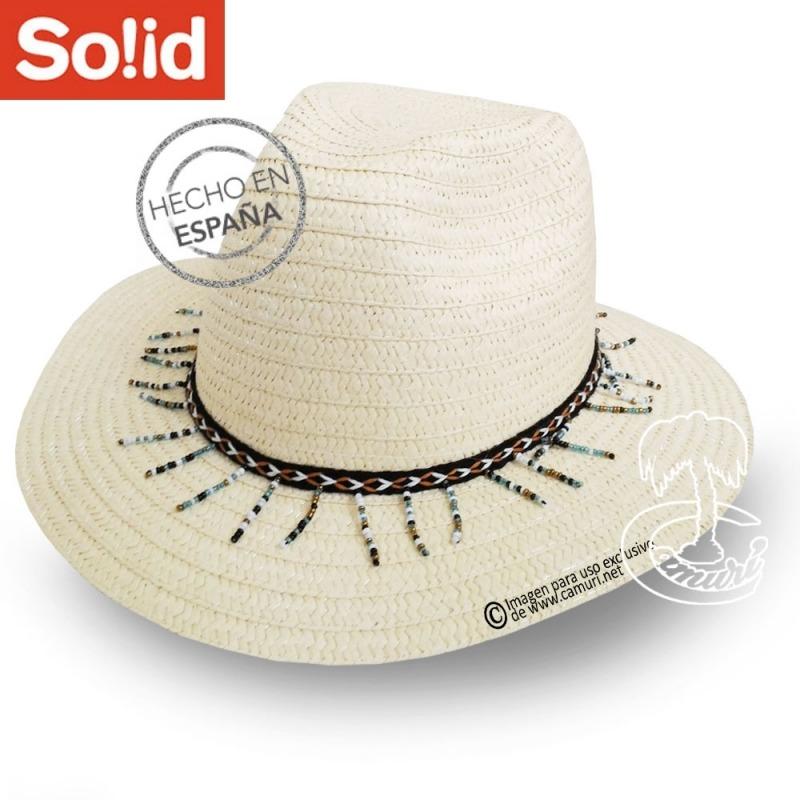 Sombrero Fedora Abalorios