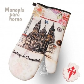 Manoplas de Horno Camino de Santiago
