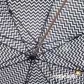 Paraguas Ezpeleta Blanco y Negro detalle armadura