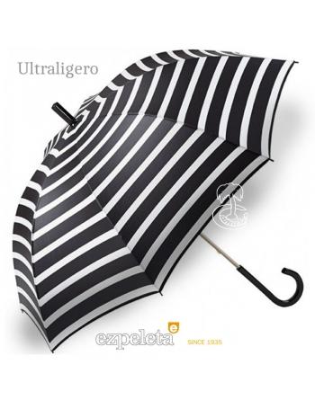 Paraguas Ezpeleta Blanco y Negro