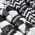 Paraguas Ezpeleta Blanco y Negro 4 Estampados