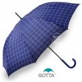 Paraguas Gotta de Cuadros Azul