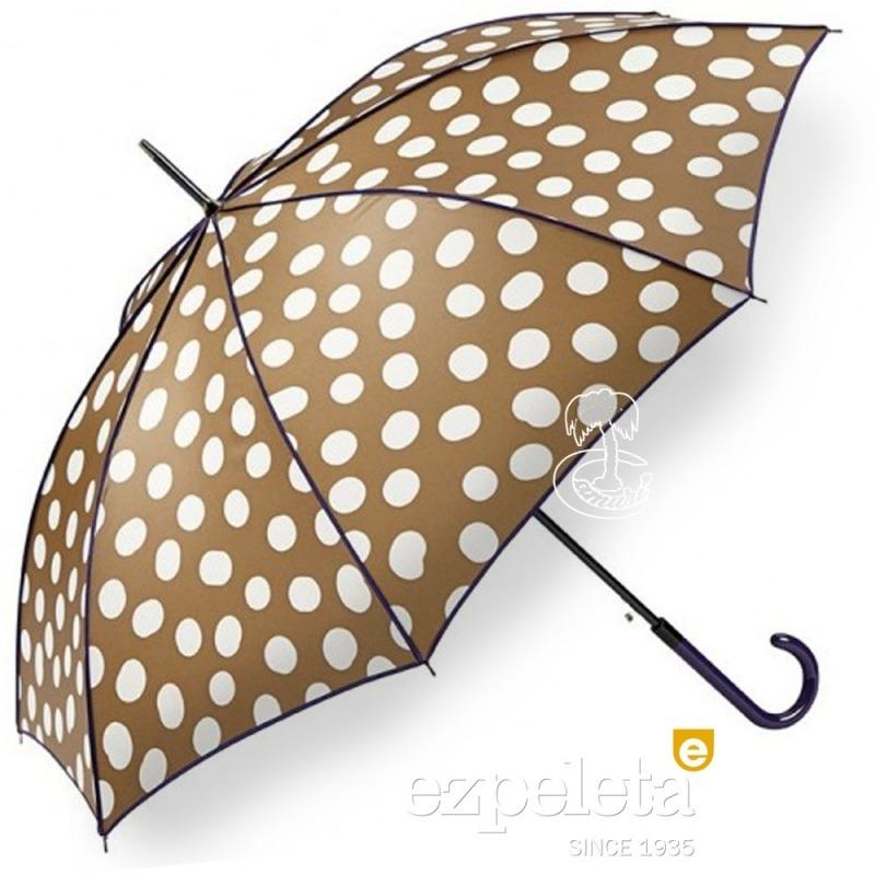 Paraguas de Lunares Ezpeleta 2018 Taupe