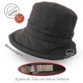 Sombrero de lluvia ajustable