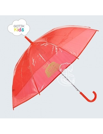 Paraguas Transparente Infantil