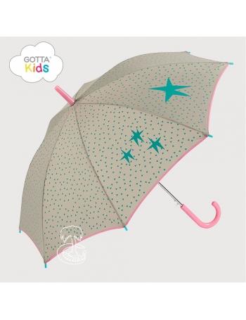 Paraguas Gotta Infantil Triángulos