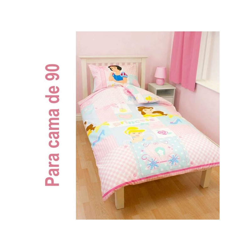 Funda n rdica princesas disney cama de 90 105 regalos camuri for Funda nordica cama 105