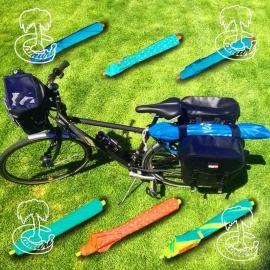 Sombrilla para bicicleta