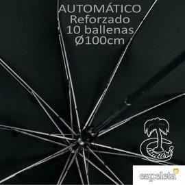 Paraguas Plegable Automático Reforzado