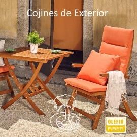 COJINES DE EXTERIOR CON RESPALDO (Cojín Auxiliar NO INCLUIDO)