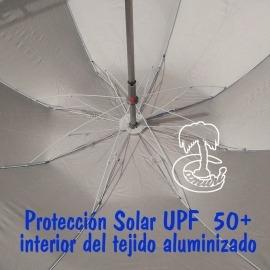 Parasol  de  Playa PINCHO de Aluminio180cm con rosca