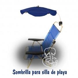Sombrilla Azul Oscuro