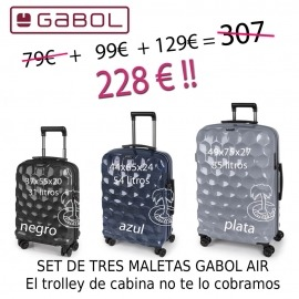 Trolley Ultra Resistente Air de Gabol