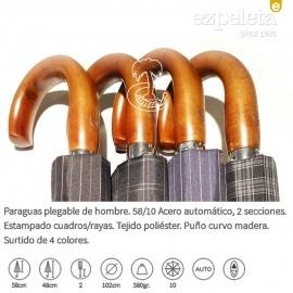 Paraguas Plegable 2 secciones Ezpeleta