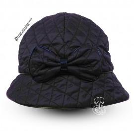 Sombrero de Lluvia con Lazo Azul