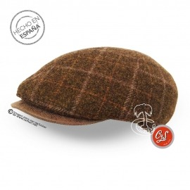 Gorra de Lana Cuadro Escocés