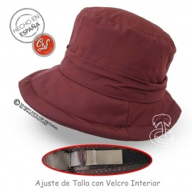 Sombrero impermeable ajustable