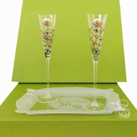 Copas de Champagne 50 Aniversario