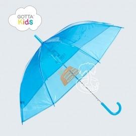 Praguas Transparente Infantil Azul