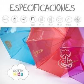 Praguas Transparente Infantil Gotta Kids