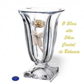 Florero 50 aniversario de Cristal