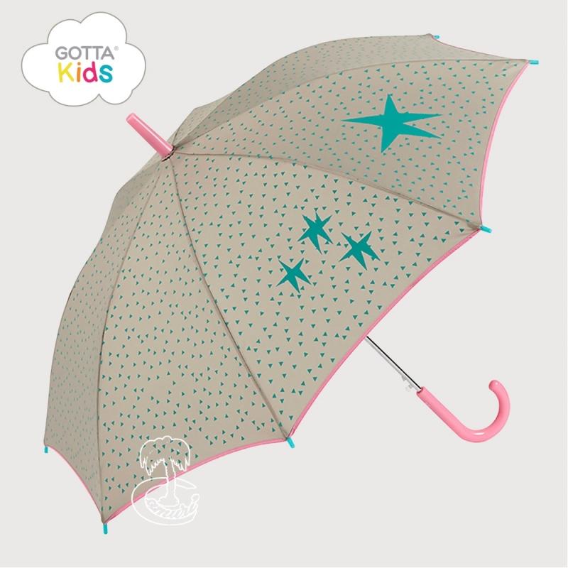 Paraguas Turquesa Infantil
