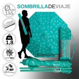 Sombrilla de viaje Compacta