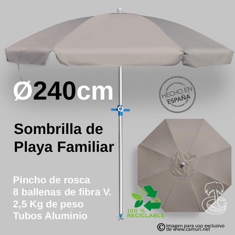Sombrilla de Playa 4 plazas