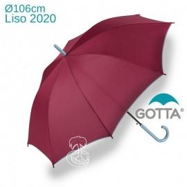 Paraguas burdeos