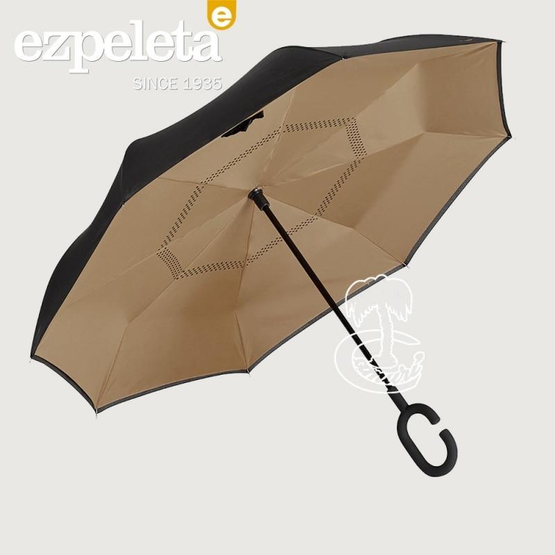 Paraguas del Revés Color Taupe